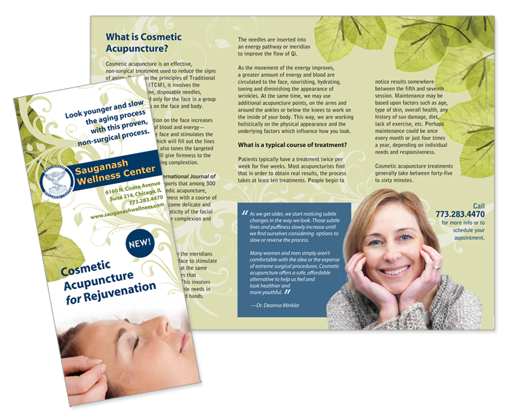 acupuncture brochure