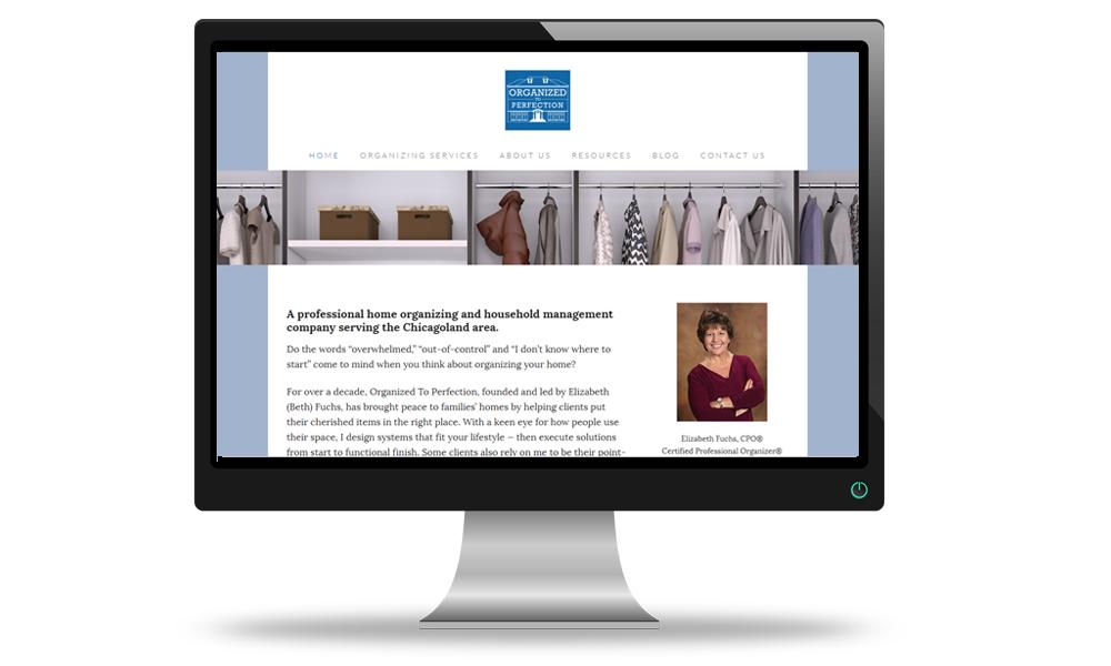organizing pro website
