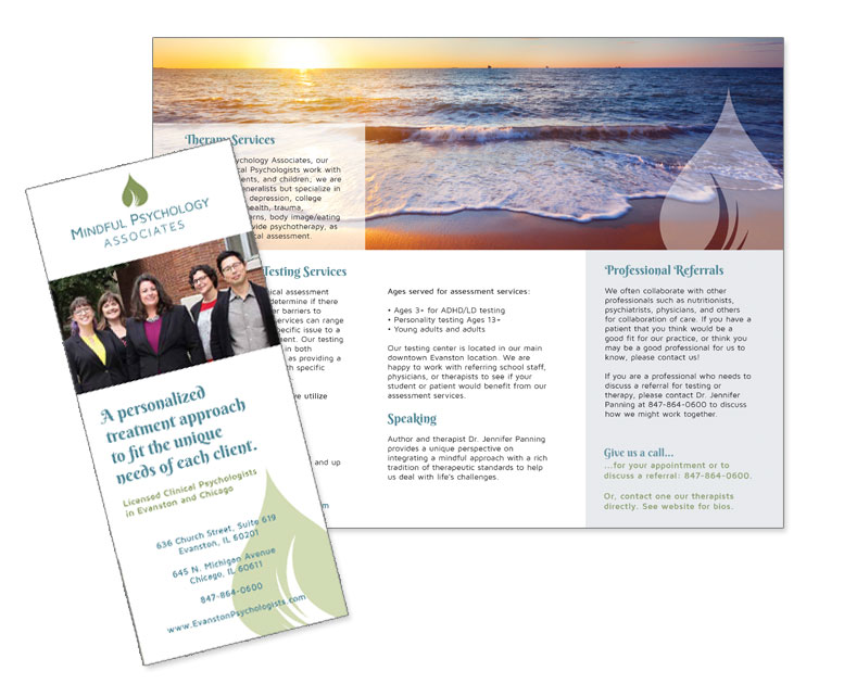 therapist brochure