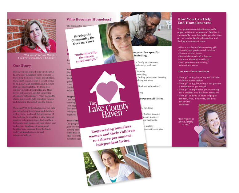 not-for-profit brochure design