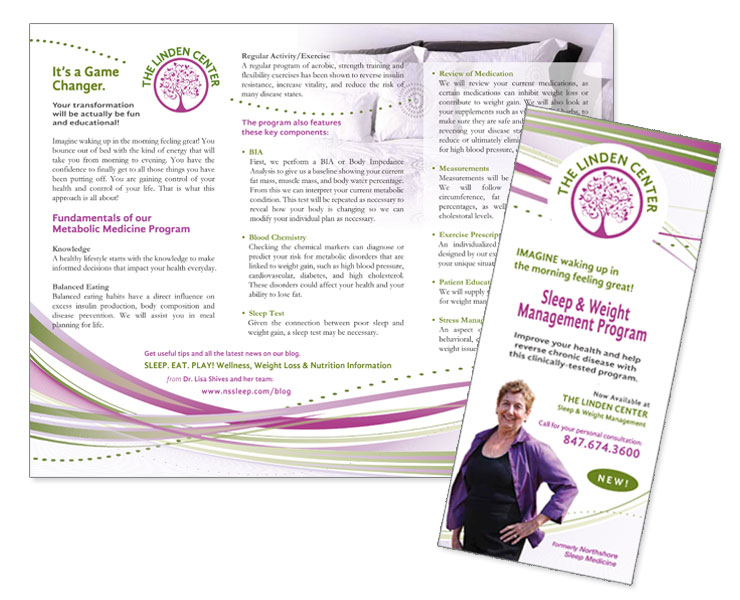 health brochure design