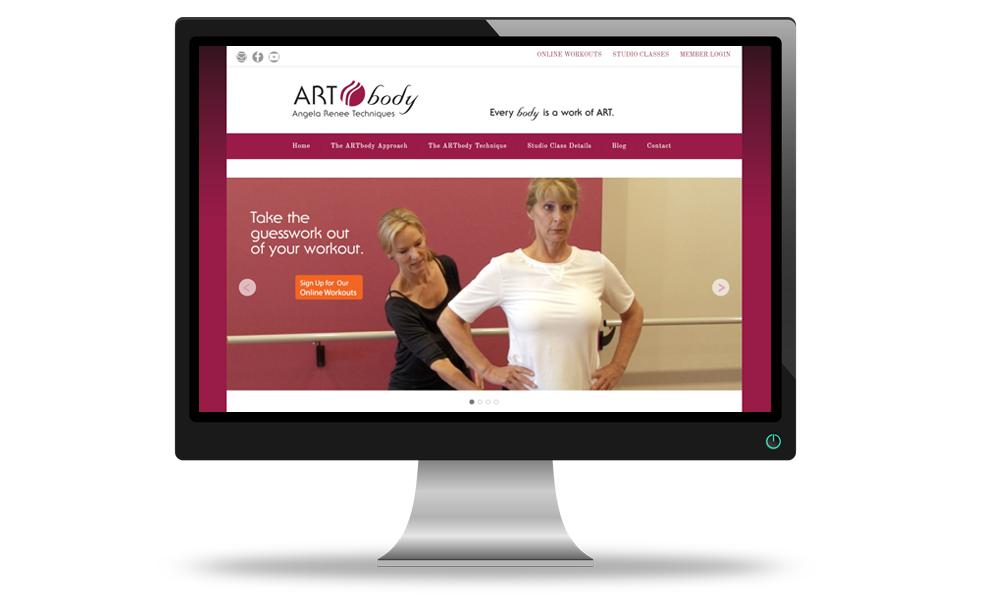 fitness class website