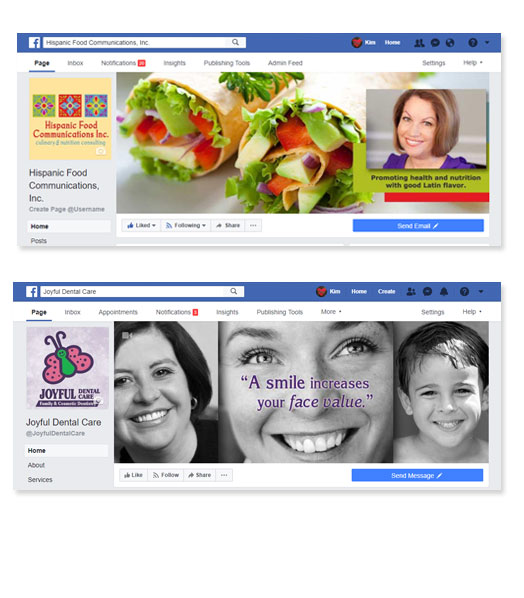 Facebook business graphics