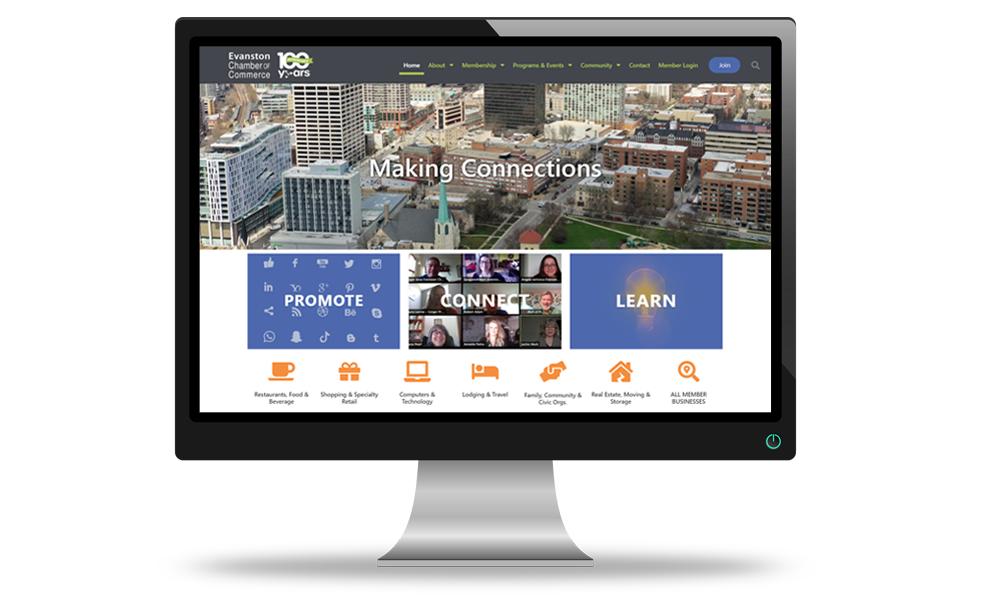 chamber of commerce website design