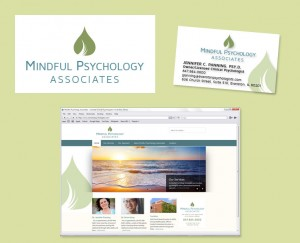 Mindful Psychology Associates branding