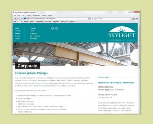 Web site copywriting