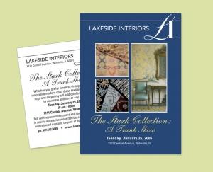 Lakeside Interiors invitation