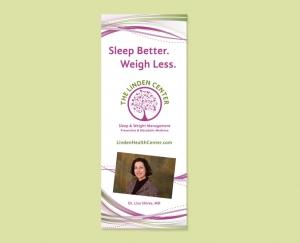 Wellness Center exhibit banner
