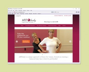 Fitness classes website