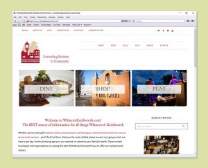 Chamber of Commerce website design
