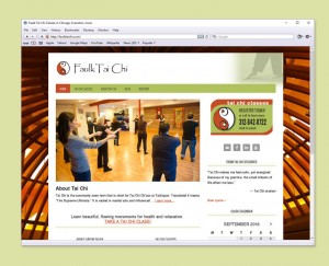 Tai Chi Instructor website