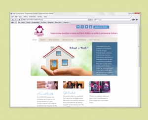 Womens' Shelter web site