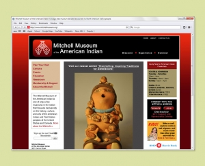 Mitchell Museum website
