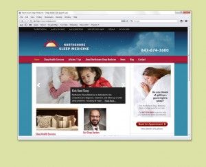 Health Center website design