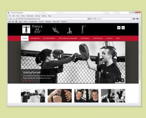 Fitness Trainers website